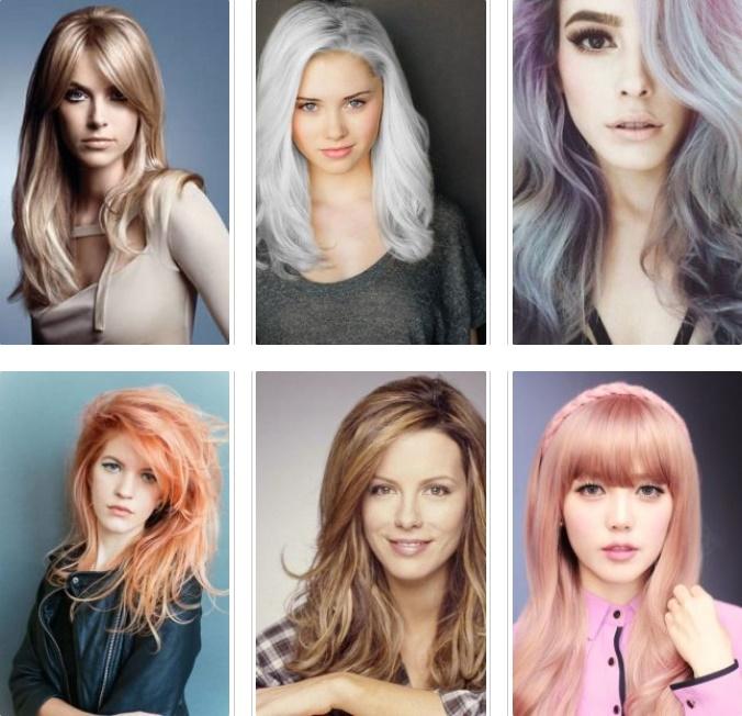 Ce culori de par se poarta in 2017
