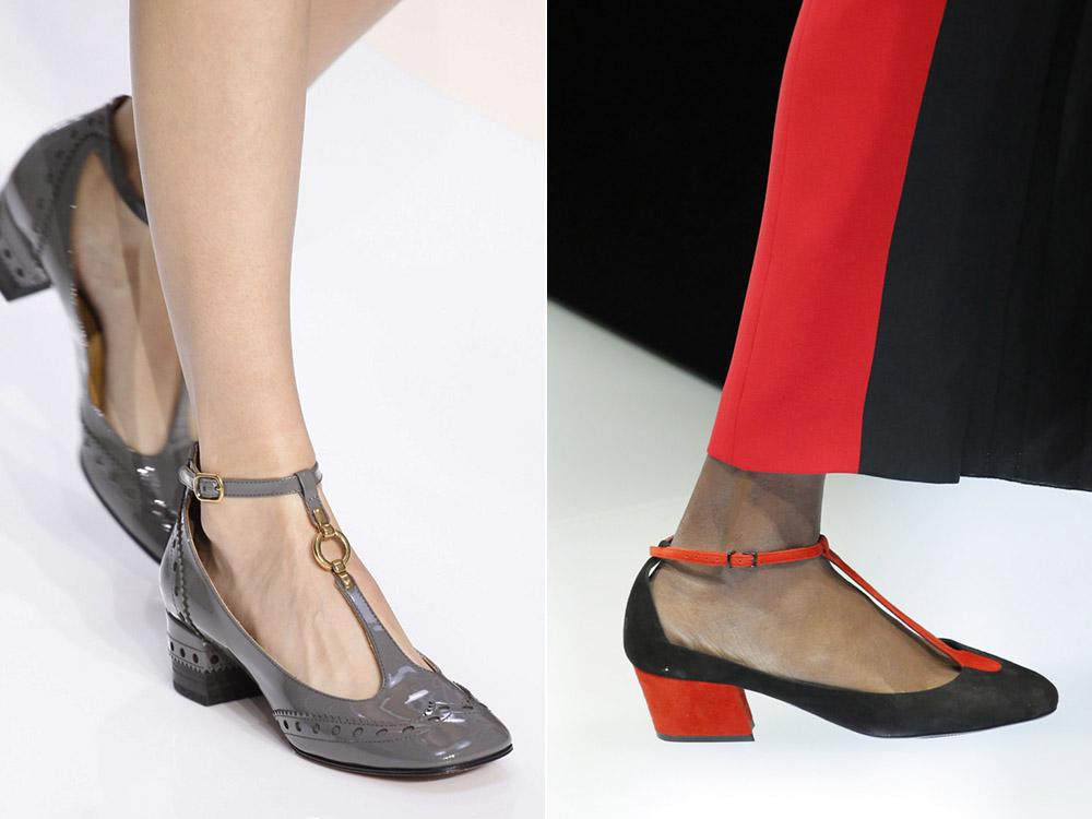Pantofi cu toc mic la moda in 2018