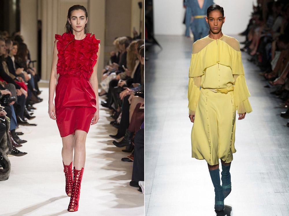 Ce rochii se poarta toamna 2017