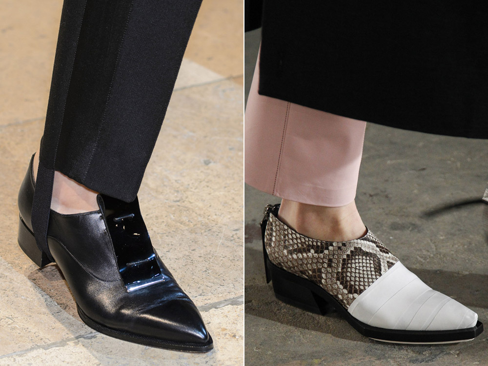 Modele pantofi dama in stil masculin