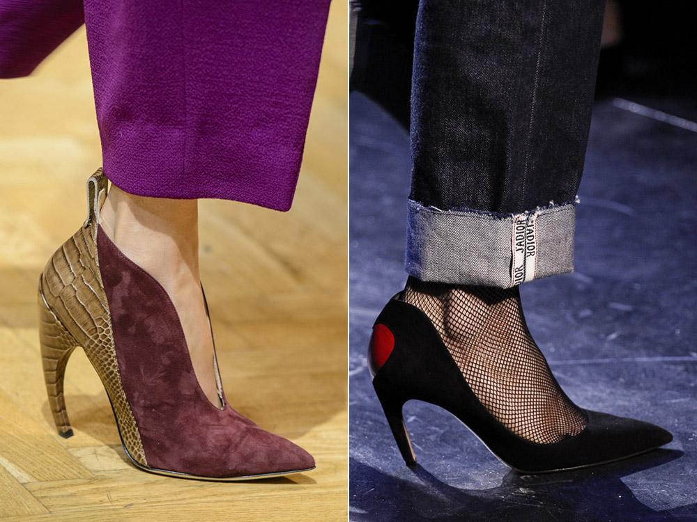 Pantofi cu toc inalt neobesnuit