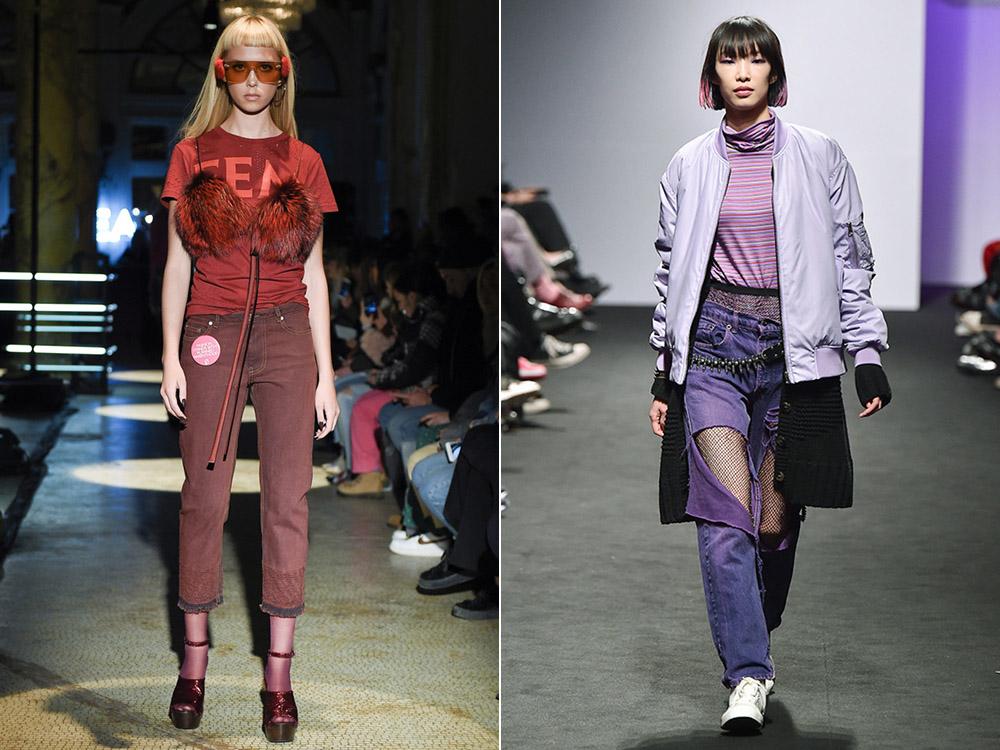 Blugi dama 2018 culori