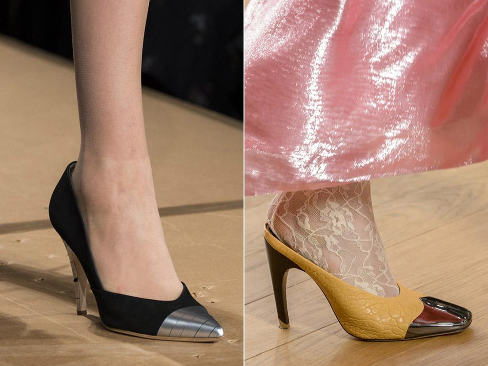 Pantofi eleganti dama cu toc mediu