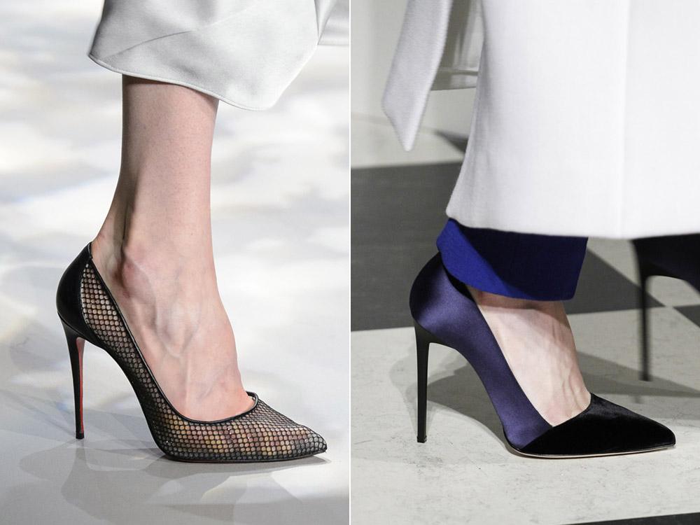 Pantofi stiletto toamna 2017 iarna 2018