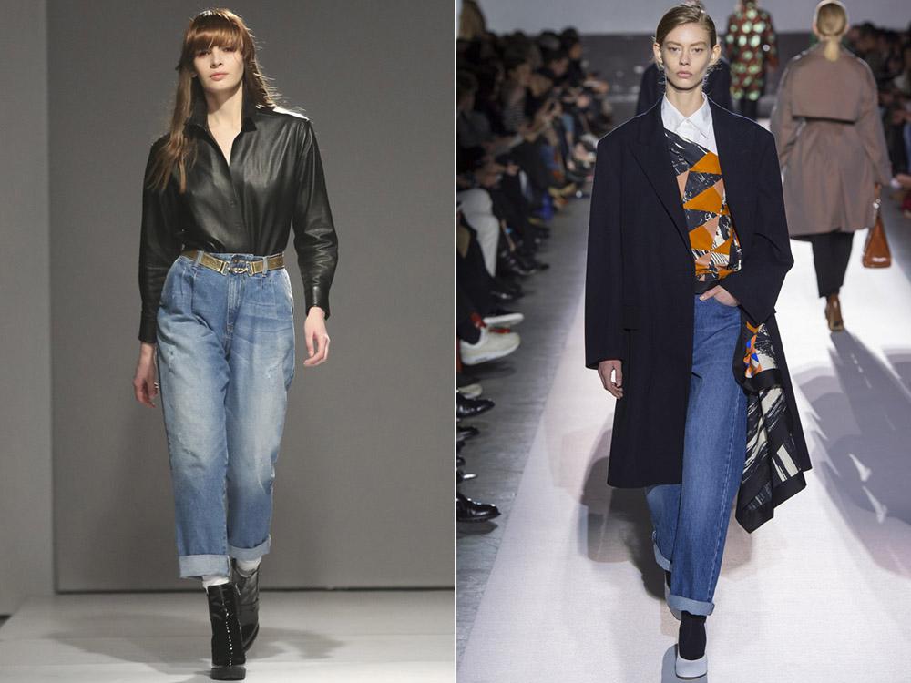 Modele blugi rasuciti la moda 2018