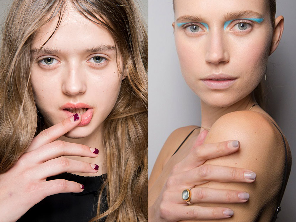 Modele unghii french toamna 2017 iarna 2018