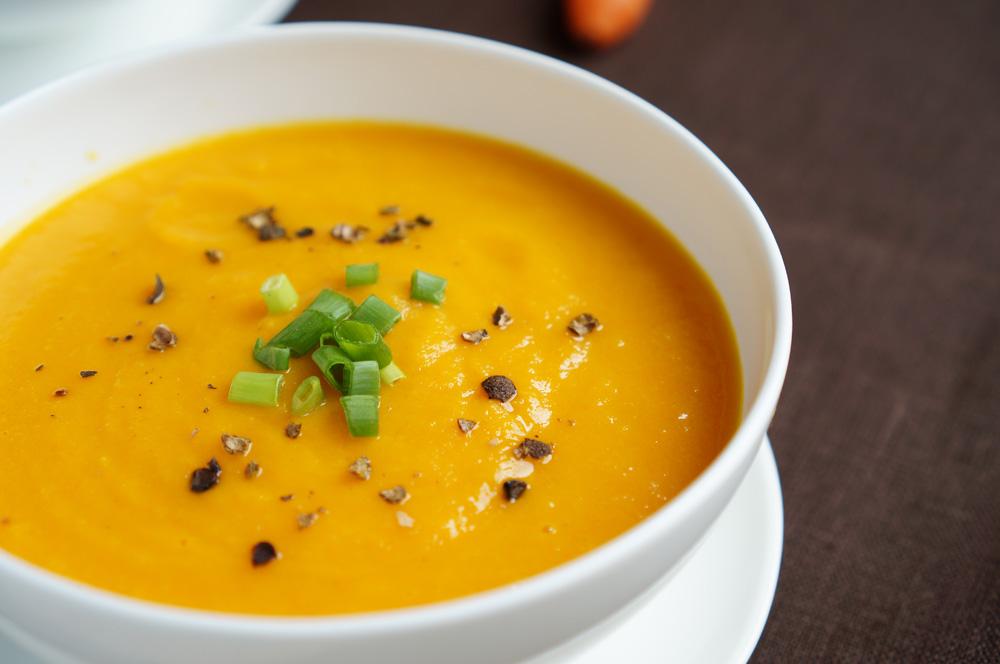 10 Supa-crema de morcov si mar