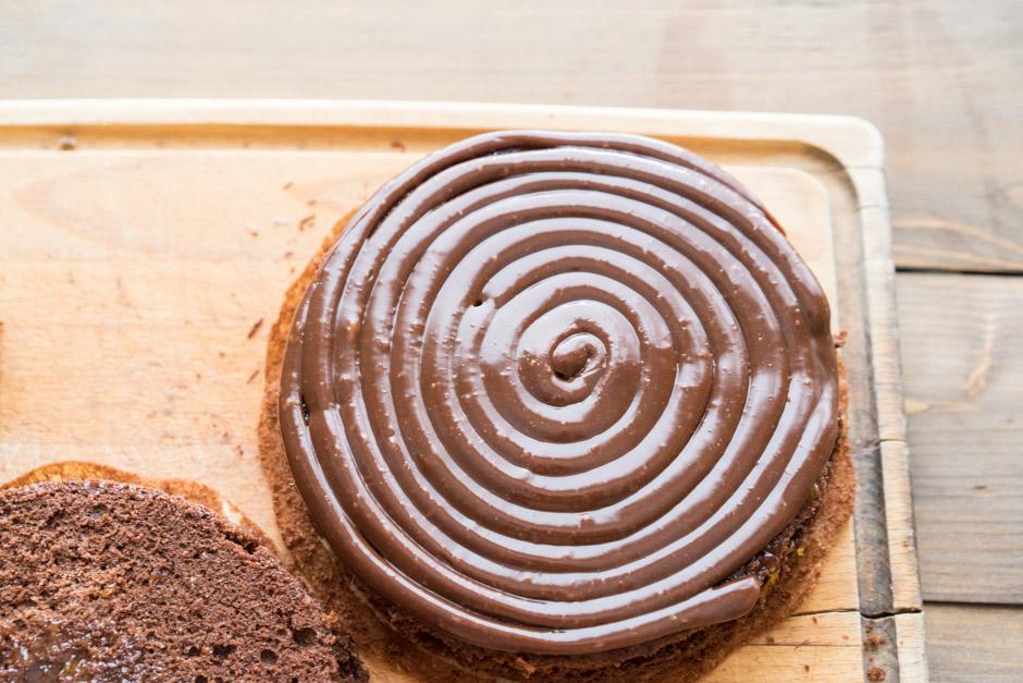 21 Tort de ciocolata cu caise si ganas