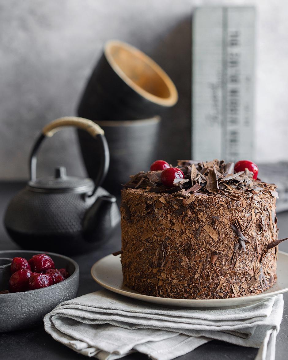 23 Tort de ciocolata cu caise si ganas