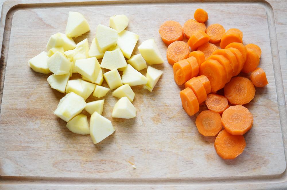3 Supa-crema de morcov si mar