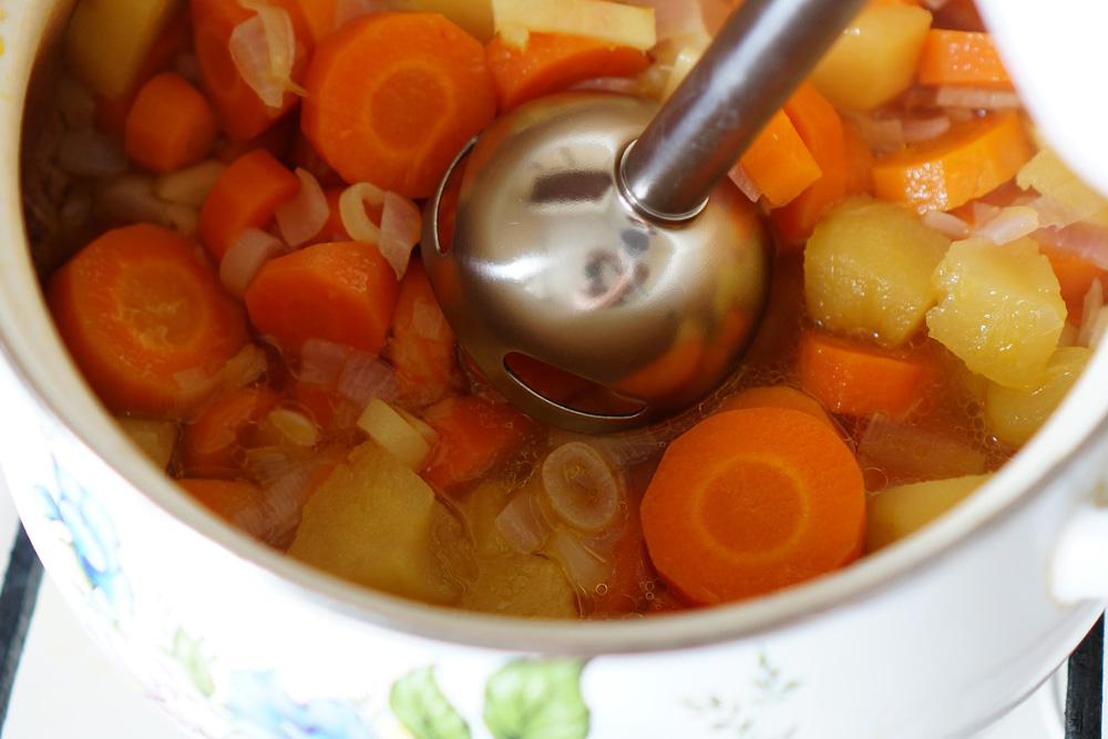 9 Supa-crema de morcov si mar