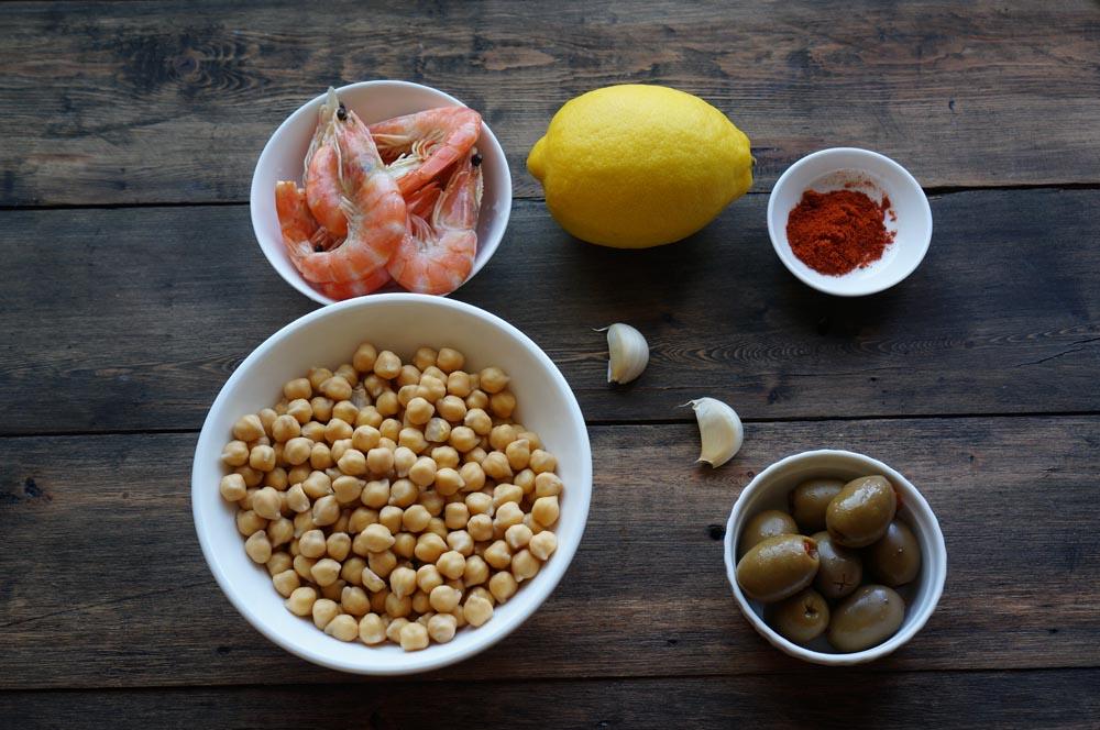 1 Salată mediteraneană cu năut