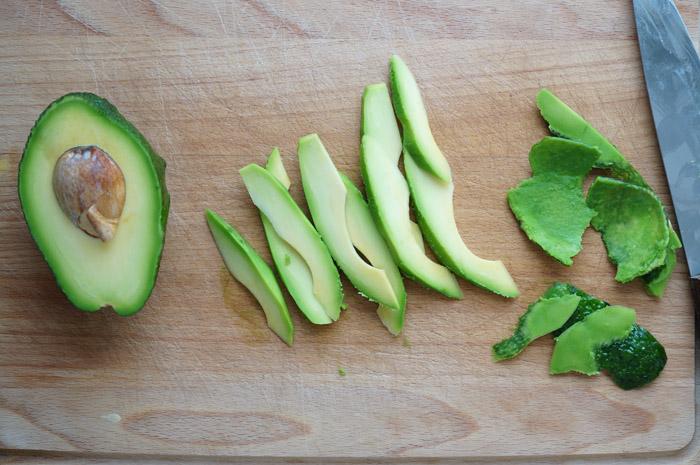 6 Salată cu avocado și bacon