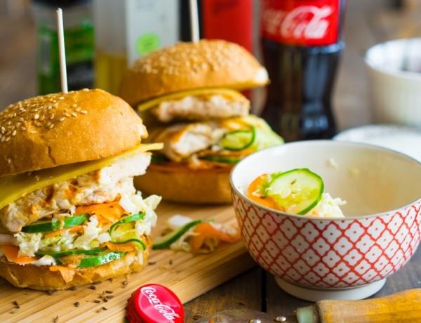 Hamburger cu pui