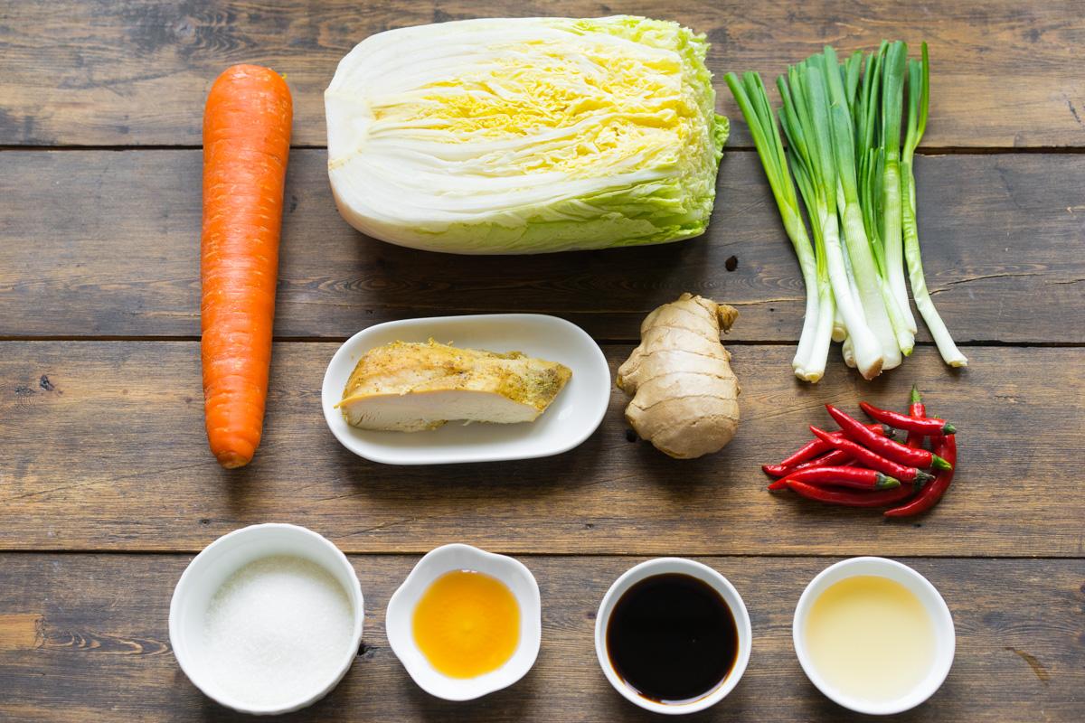 1 Salată asiatică cu pui