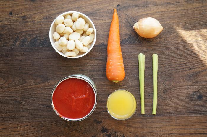 1 Supă cremă de Roșii cu Gnocchi