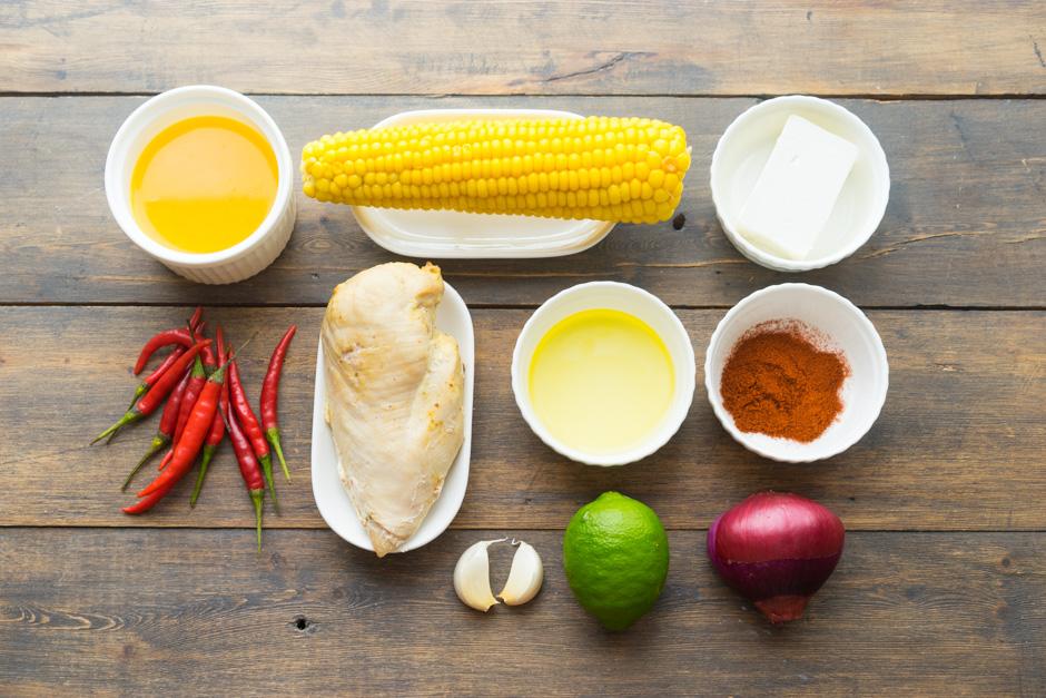 1 Supa cu ardei si porumb
