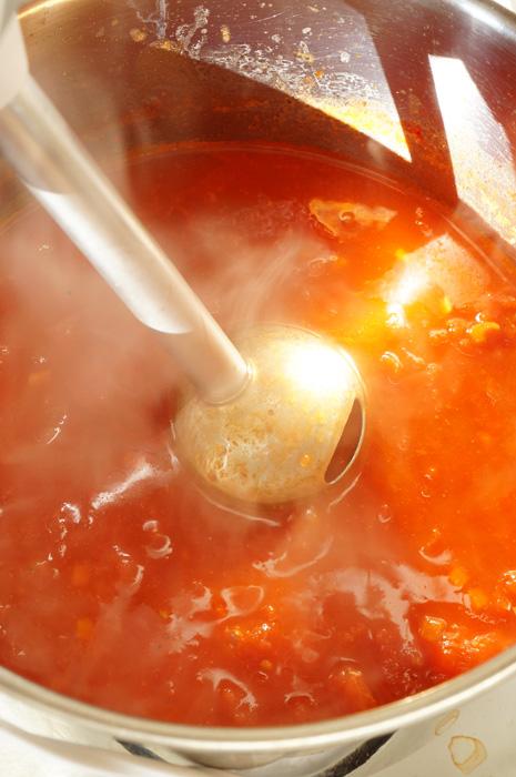 11 Supă cremă de Roșii cu Gnocchi