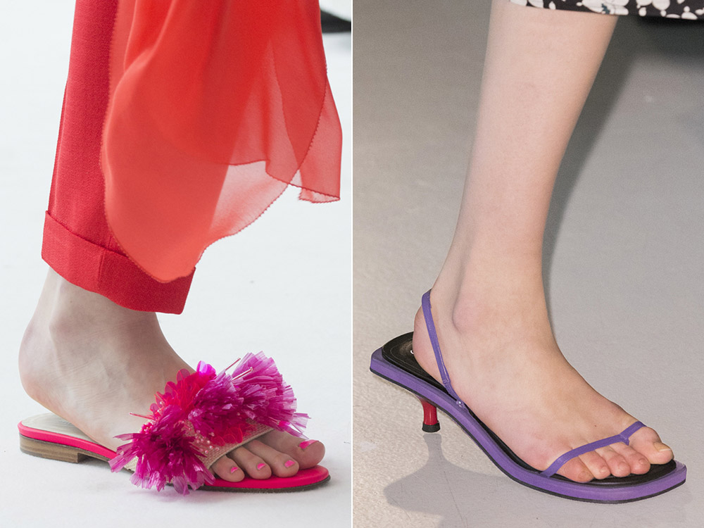Slapi la moda 2018 primavara vara