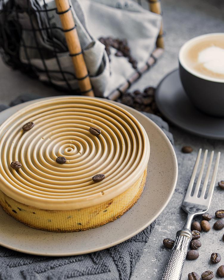 14 Tartă cu cremă de cafea