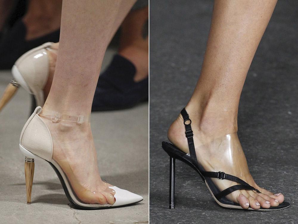 Pantofi dama transparenti primavara vara 2018
