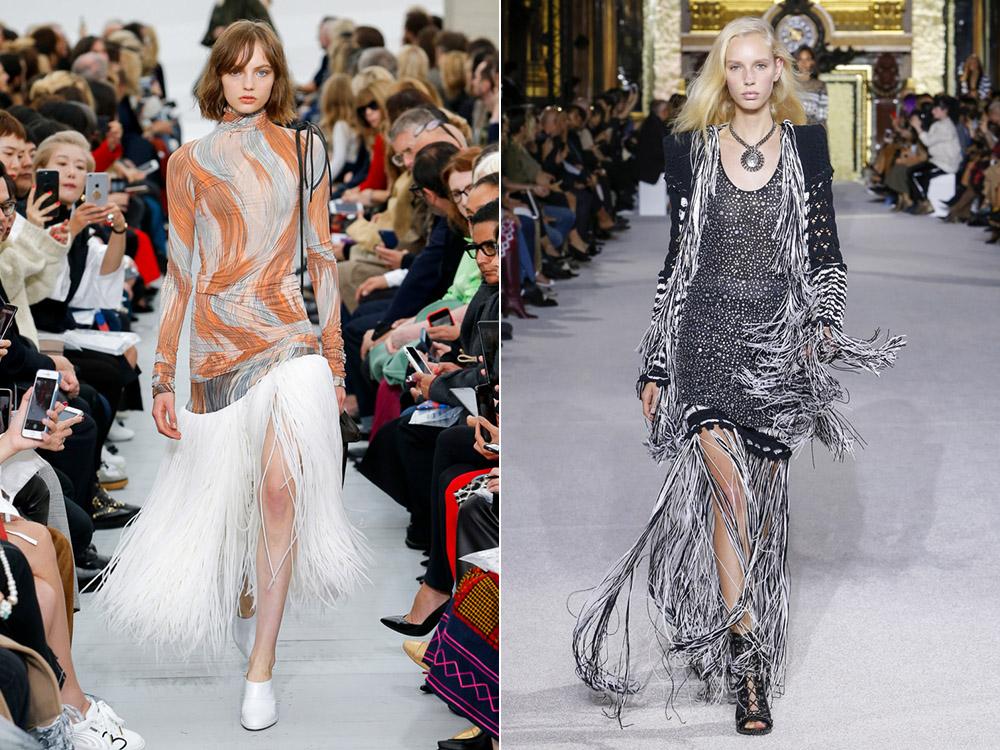 Franjuri la moda primavara vara 2018