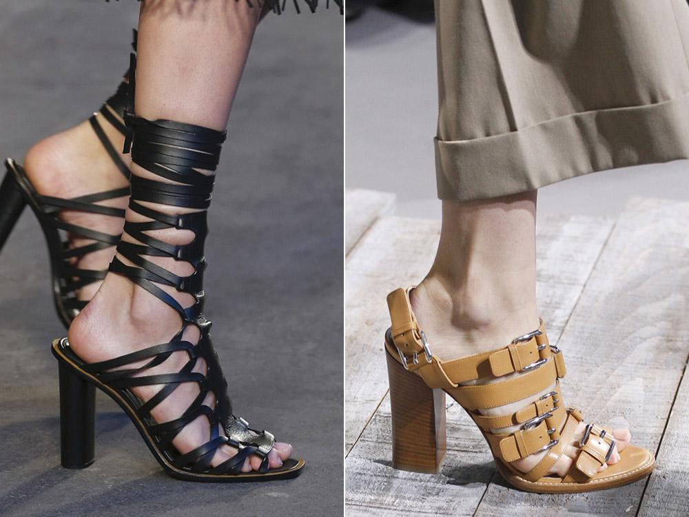 Incaltaminte 2018 stil sandale gladiator