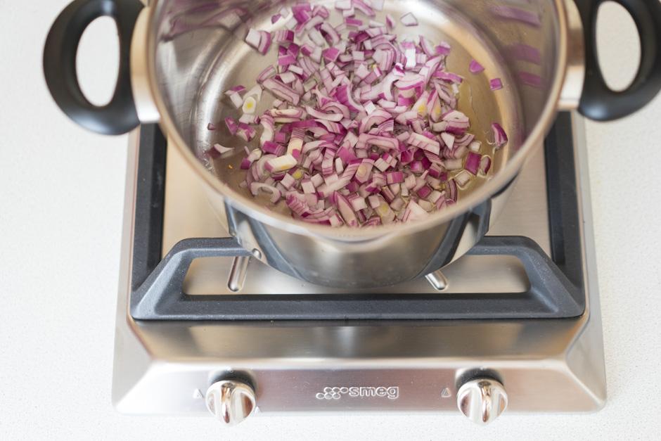 5 Supa cu ardei si porumb