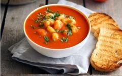 Supă cremă de Roșii cu Gnocchi