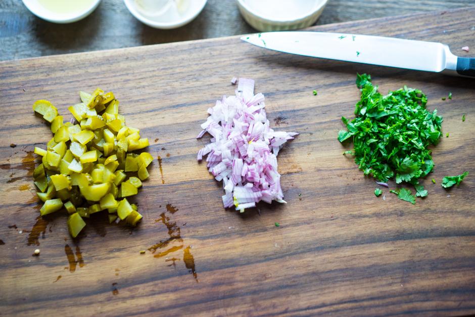 10 Carne de porc glazurata cu salata de porumb