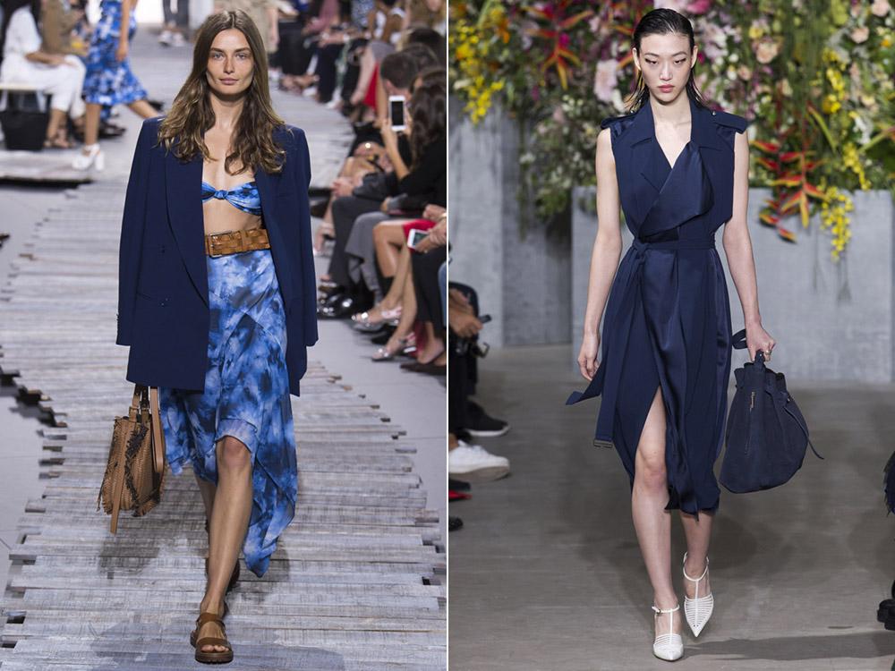 Albastru inchis la moda in 2018