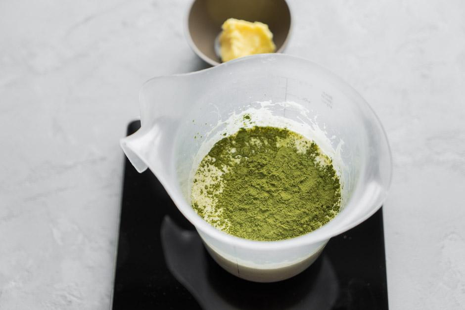 5 Truffles cu ceai japonez Matcha si lemongrass
