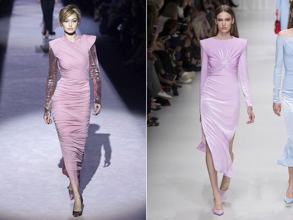 rochii de culoarea roz