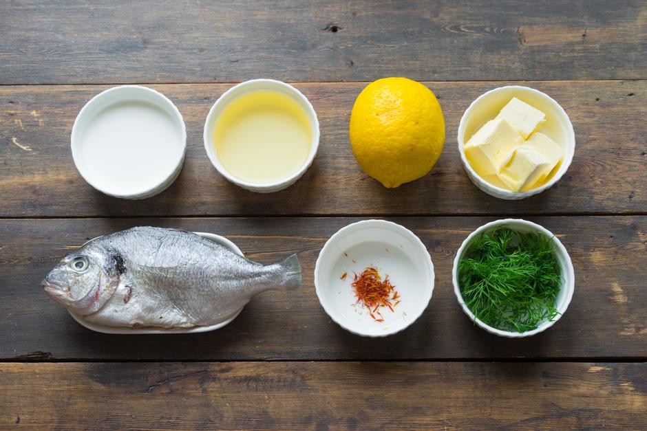 1 Peste alb in sos Beurre Blanc
