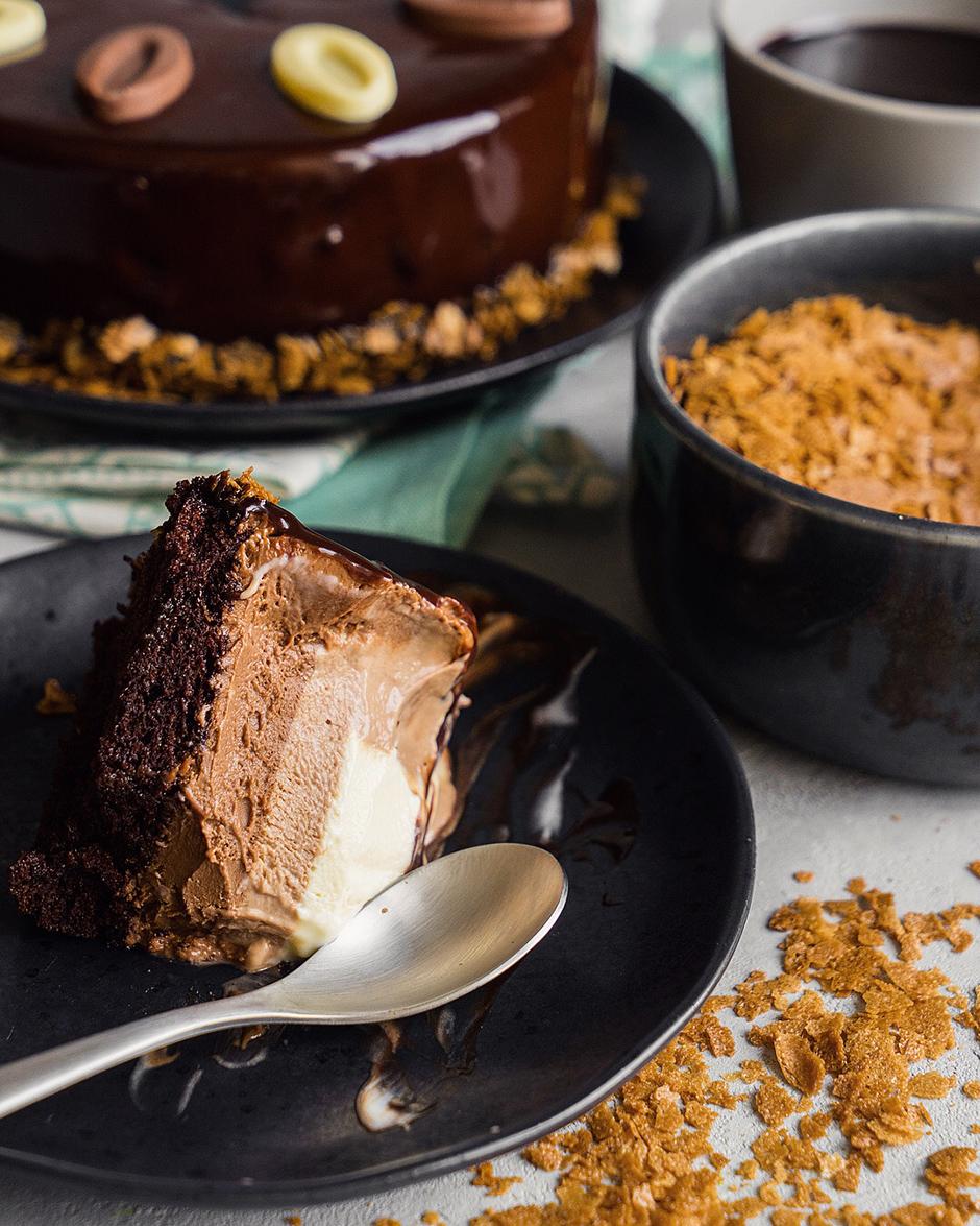 53 Tort trio de ciocolata dupa reteta unui chef francez