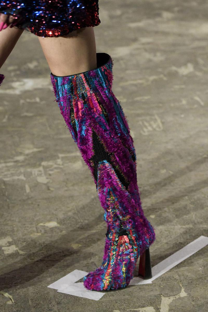 Cizme cu imprimeu la moda 2019