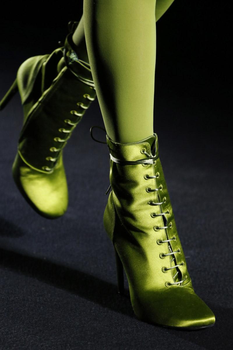 Incaltaminte verde neon