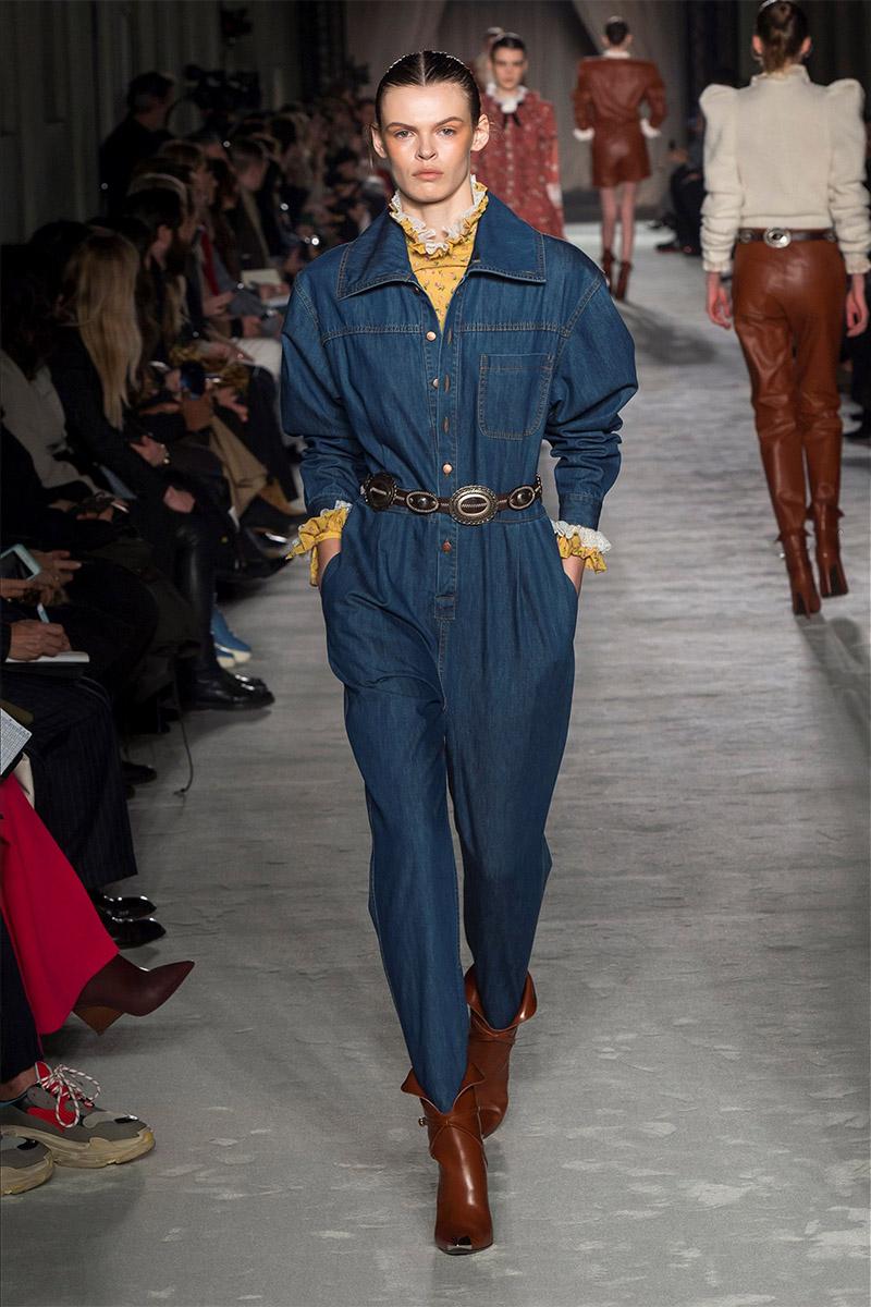 Salopete din jeans 2019