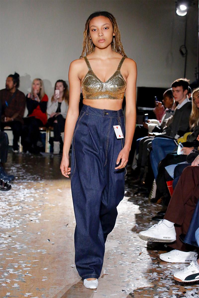 Blugi dama largi la moda 2019
