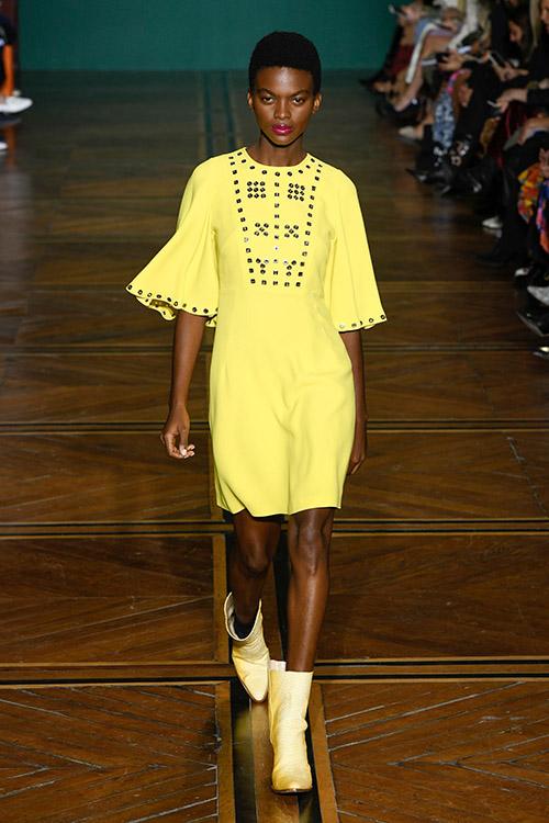 Galben neon la moda in 2019
