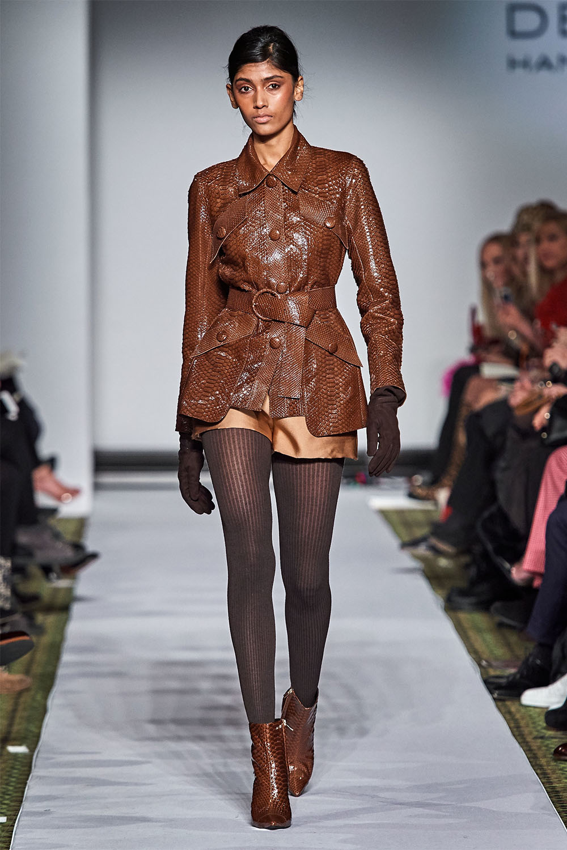 Modele geci de piele femei 2019