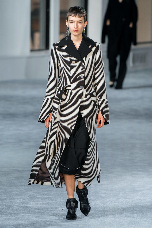 Tendinte moda toamna 2019 imprimeu zebra