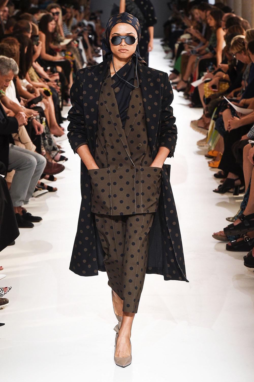 Pantaloni dama 2019 primavara vara cu buline