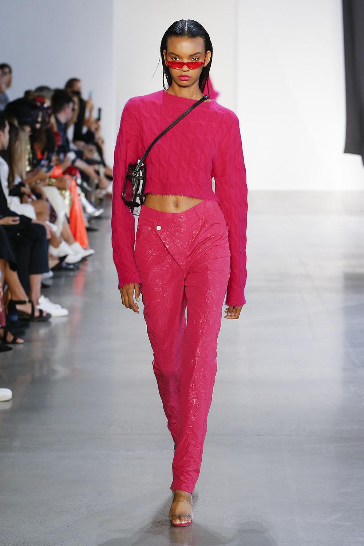 Pantaloni fete 2019 roz