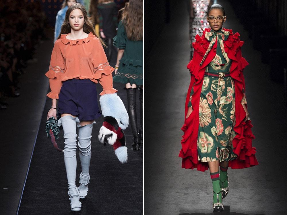 Tendinte moda toamna iarna 2016 2017: volanase