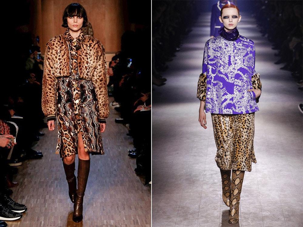 Tendinte moda toamna iarna 2016 2017: imprimeu animal