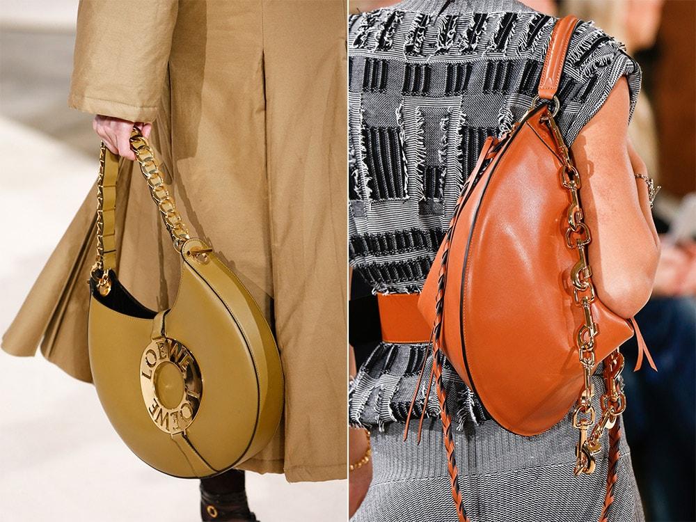 Geanta semiluna la moda in 2017
