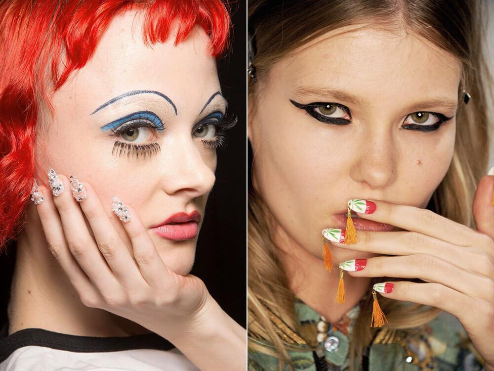 Modele unghii 2017 nail art