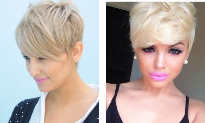 Pixie par blond