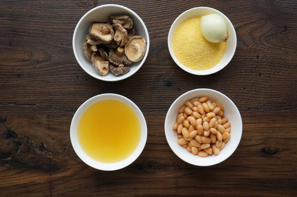 1 Supă de ciuperci cu fasole